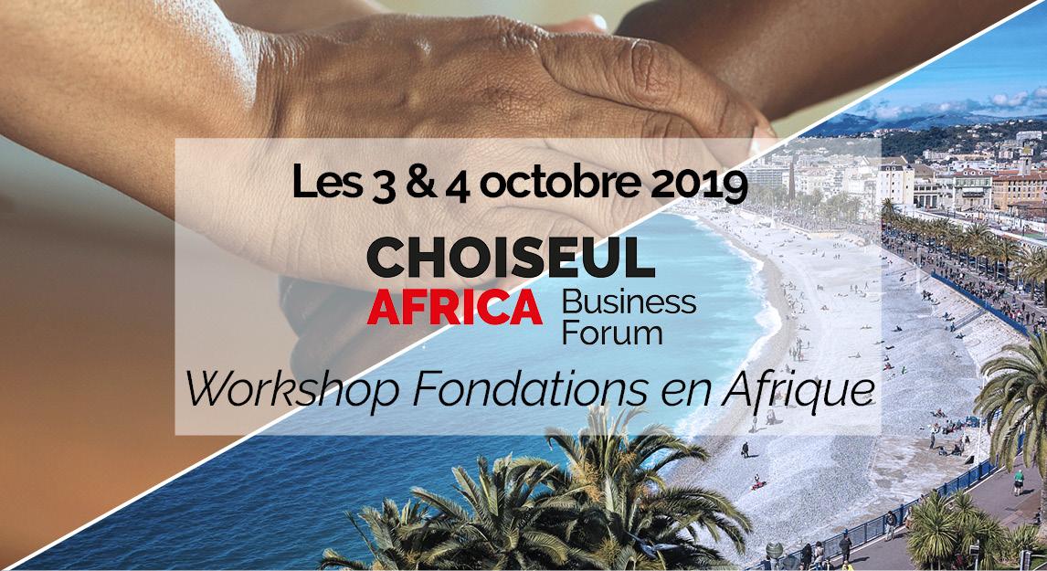 Philanthropie et entrepreneuriat pour relever les défis africains