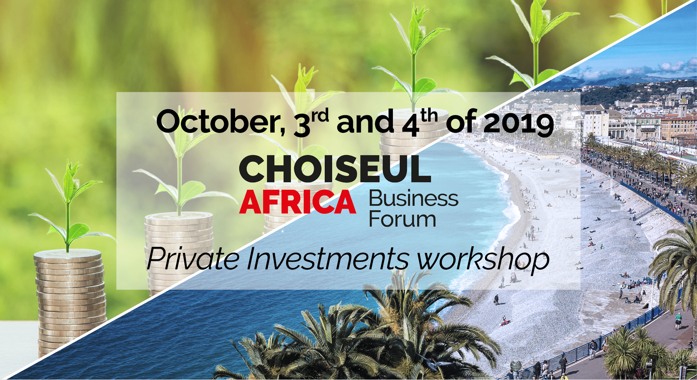 Which successful strategy to attract private investments in Africa?