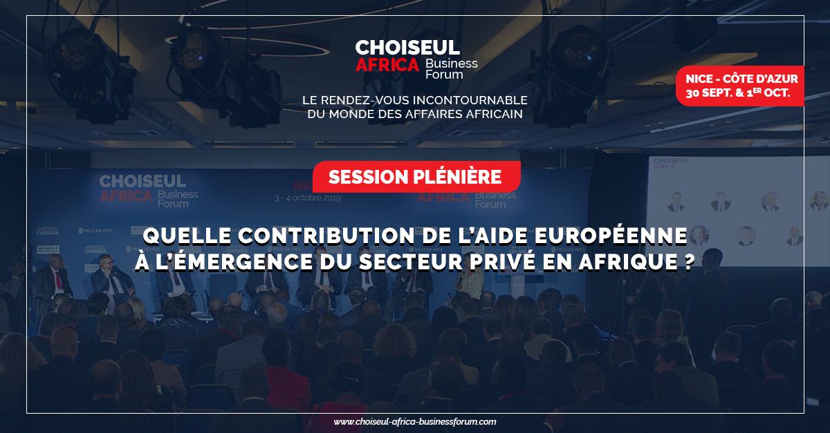 Quelle contribution de l'aide européenne à l'émergence du secteur privé en Afrique ?